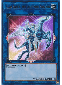 Gaia Saber, the Lightning Shadow - DUDE-EN022 - Ultra Rare