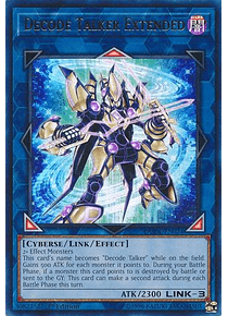 Decode Talker Extended - DUDE-EN024 - Ultra Rare