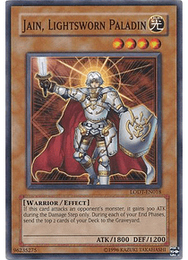 Jain, Lightsworn Paladin - LODT-EN018 - Common