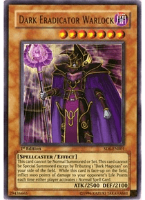 Dark Eradicator Warlock - SD6-EN001 - Ultra Rare