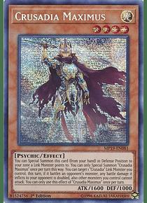 Crusadia Maximus - MP19-EN081 - Prismatic Secret Rare