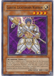 Garoth, Lightsworn Warrior - LODT-EN020 - Common