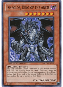 Diabolos, King of the Abyss - GLD4-EN018 - Common