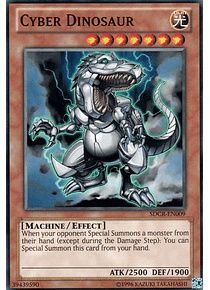 Cyber Dinosaur - SDCR-EN009 - Common