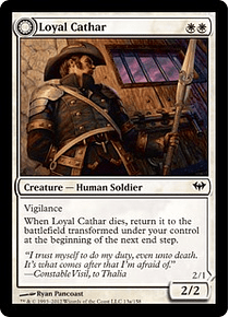 Loyal Cathar | Unhallowed Cathar - DKA - C