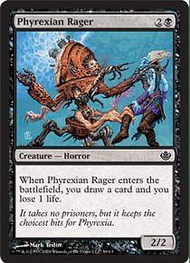 Phyrexian Rager - GVL - C