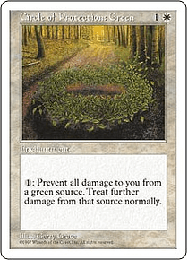 Circle of Protection: Green - 5TH - C