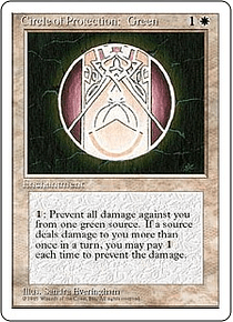 Circle of Protection: Green - 4TH - C
