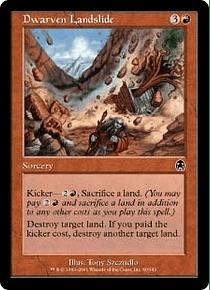 Dwarven Landslide - APC - C