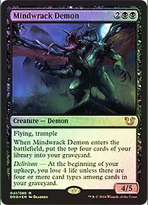 Mindwrack Demon (FOIL) - DDQ - M