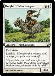 Knight of Meadowgrain - LRW - C