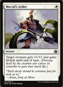 Mortal's Ardor - EVK - C