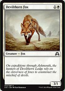 Devilthorn Fox - SOI - C