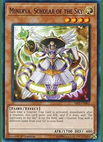 Minerva, Scholar of the Sky - SR05-EN002 - Common
