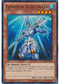 Elemental Hero Ocean - SDHS-EN002 - Common