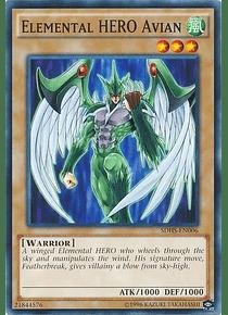Elemental Hero Avian - SDHS-EN006 - Common
