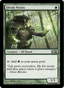 Elvish Mystic - M14 - C