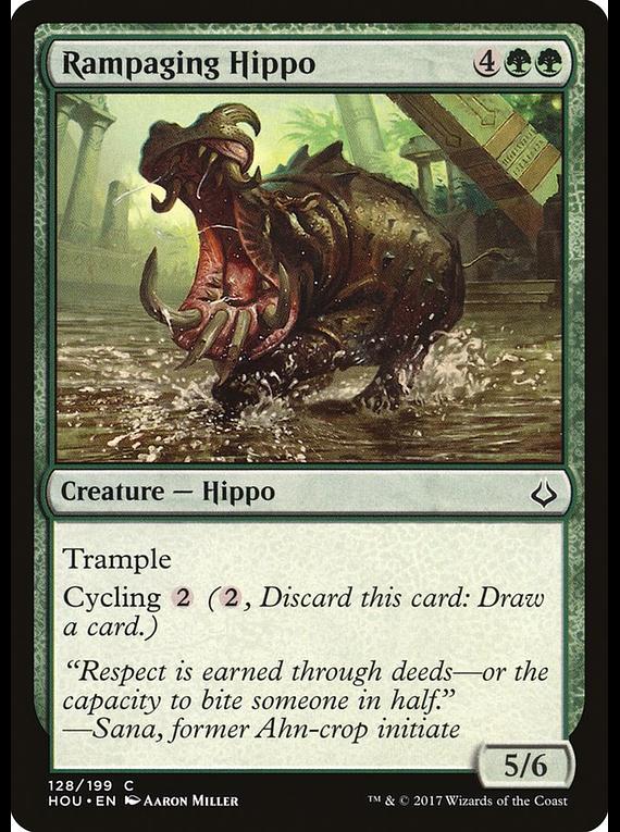 Rampaging Hippo - HOU - C