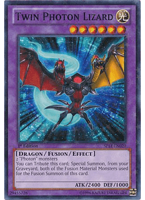 Twin Photon Lizard - SP14-EN020 - Starfoil Rare
