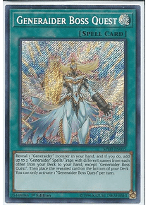 Generaider Boss Quest - MYFI-EN035 - Secret Rare