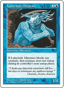 Labyrinth Minotaur - 5th - C