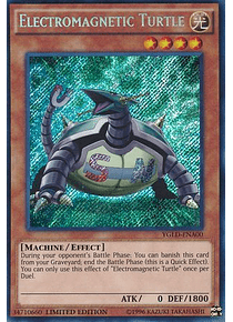 Electromagnetic Turtle - YGLD-ENA00 - Secret Rare Limited Edition