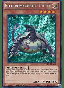 Electromagnetic Turtle - YGLD-ENA00 - Secret Rare Limited Edition