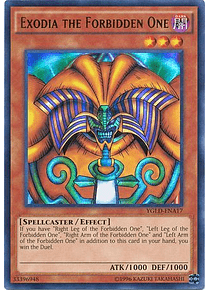 Exodia the Forbidden One - YGLD-ENA17 - Ultra Rare