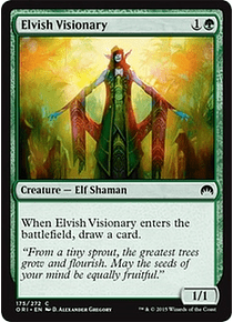 Elvish Visionary - ORI - C