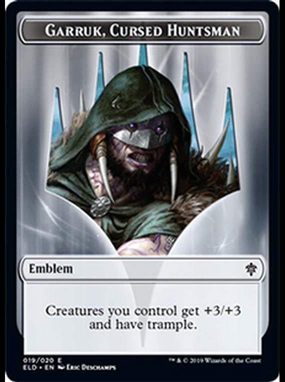 Garruk Emblem - ELD - 019 - T