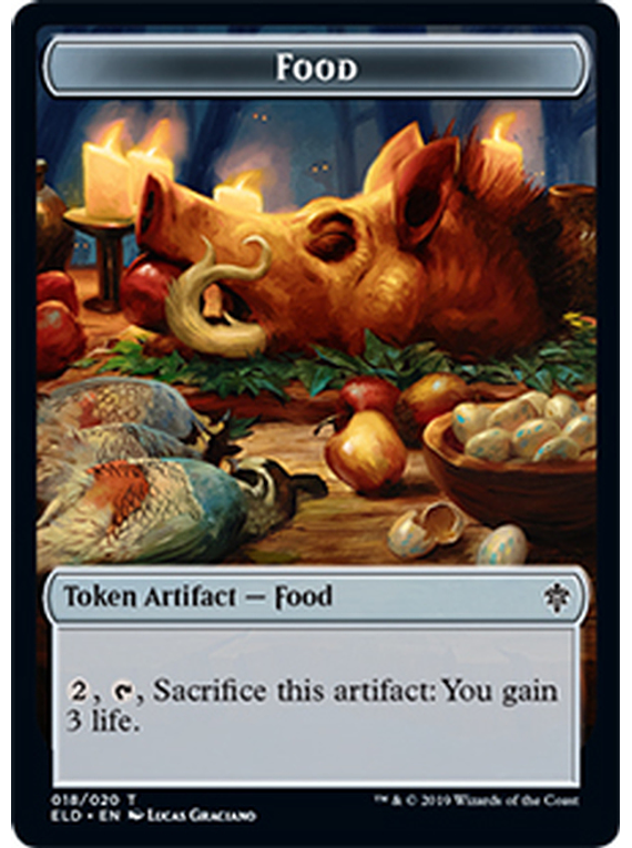 Food Token - ELD - 018 - T