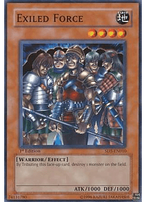 Exiled Force - SD5-EN010 - Common