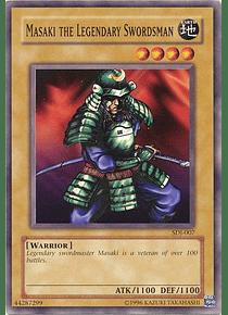 Masaki the Legendary Swordsman - SDJ-007 - Common