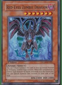 Red-Eyes Zombie Dragon - SDZW-EN001 - Ultra Rare