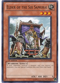 Elder of the Six Samurai - EXVC-EN028 - Common