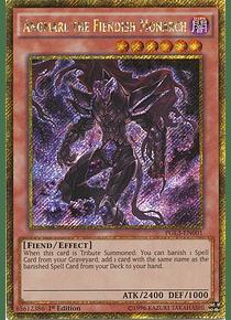 Angmarl the Fiendish Monarch - PGL3-EN001 - Gold Secret Rare