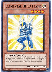 Elemental Hero Flash - GENF-EN090 - Common