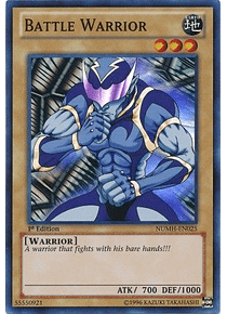 Battle Warrior - NUMH-EN025 - Super Rare