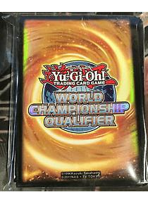 World Championship Qualifier 2015 sleeves con 50