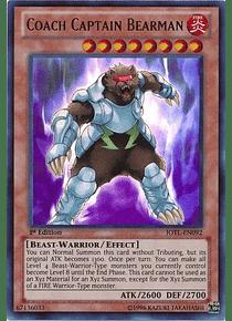 Coach Captain Bearman - JOTL-EN092 - Ultra Rare
