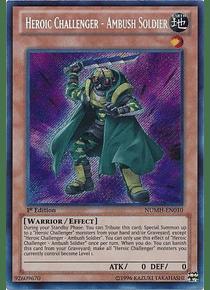 Heroic Challenger - Ambush Soldier - NUMH-EN010 - Secret Rare