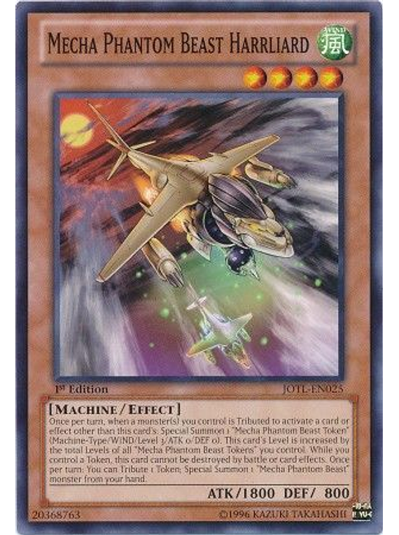 Mecha Phantom Beast Harrliard - JOTL-EN025 - Common
