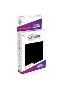 Supreme UX Matte Sleeves  (Negro) Japanese Size