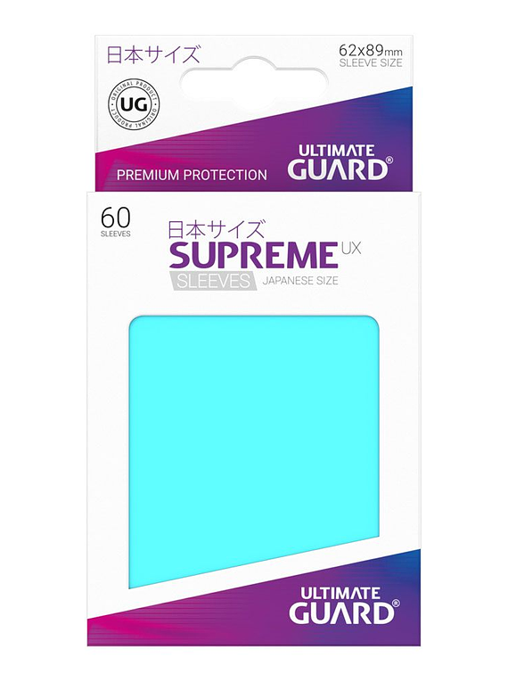 Supreme UX Matte Sleeves (Aquamarine) Japanese Size