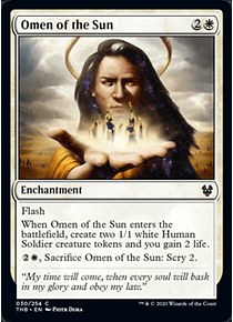 Omen of the Sun - THB - C