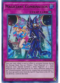 Magicians' Combination - LED6-EN005 - Ultra Rare