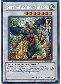 Mist Valley Thunder Lord - HA02-EN060 - Secret Rare