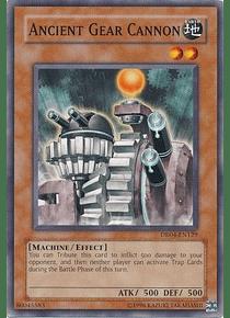 Ancient Gear Cannon - DR04-EN129 - Common