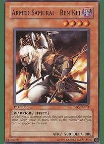 Armed Samurai - Ben Kei - SD5-EN017 - Common