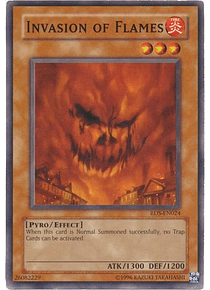 Invasion of Flames - RDS-EN024 - Common